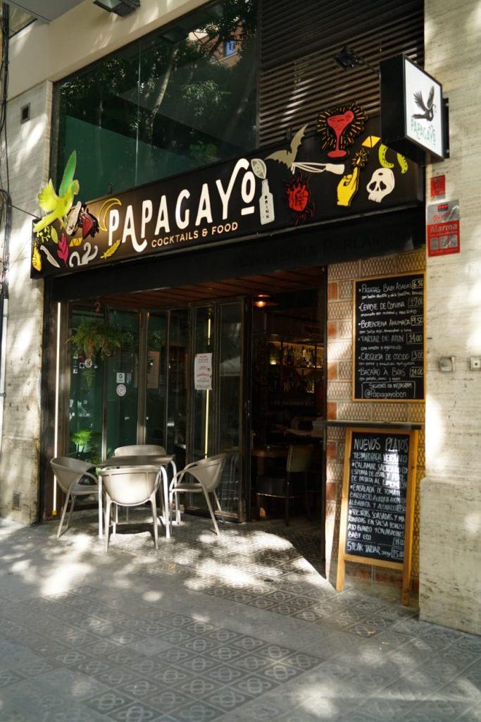 Papagayo Barcelona - Coctelería y Restaurante